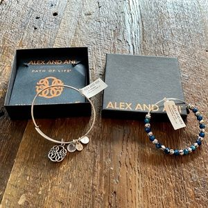 NEW! Amazing Alex and Ani Bracelets